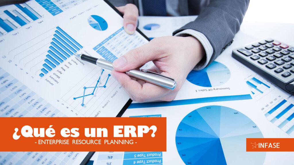 Imagen creada por el departamento de diseño gráfico, el contenido ¿Qué es un ERP?