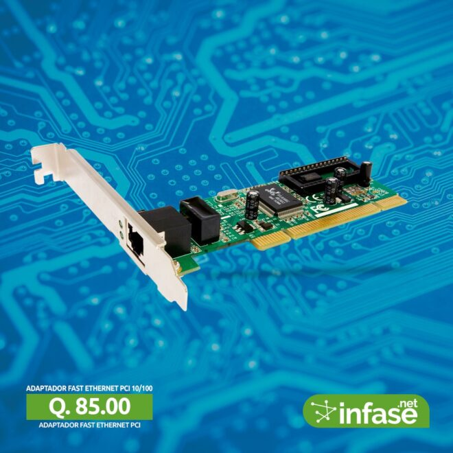 Adaptador Fast Ethernet PCI 10/100