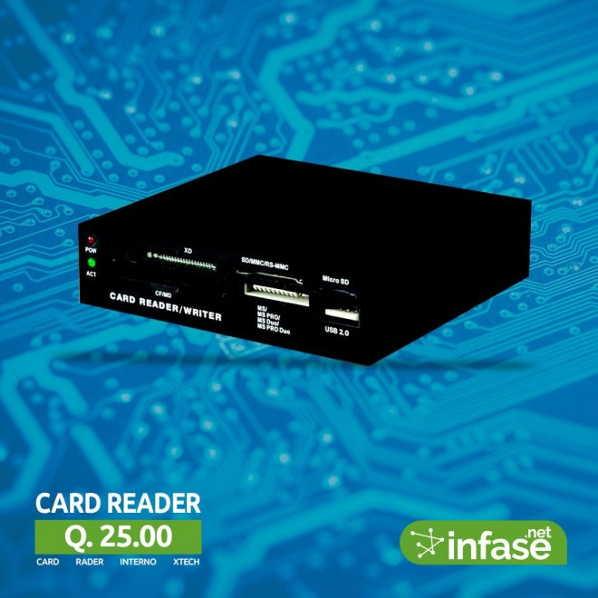 Card Reader interno xrech