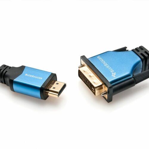 Cable HDMI a DVI BlueRigger