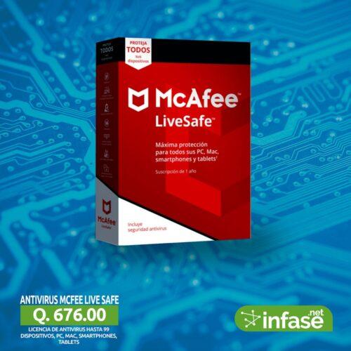 Antivirus McFee LiveSafe