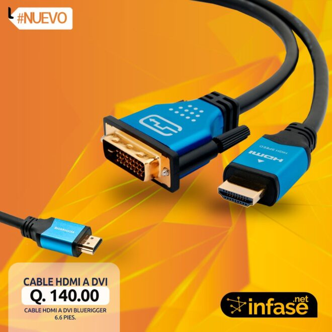 Cable HDMI a DVI BlueRigger