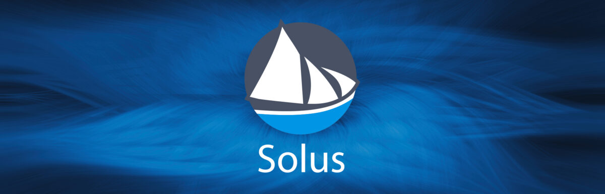 Fondo de pantalla Solus