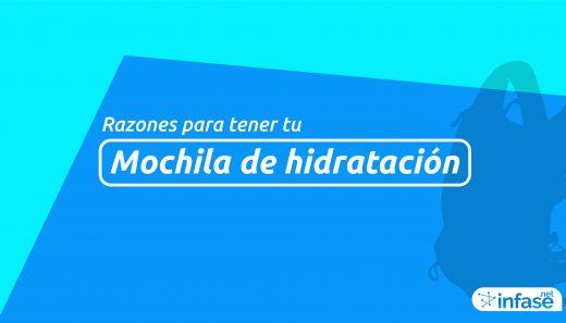 Mochila de hidratación 2LT