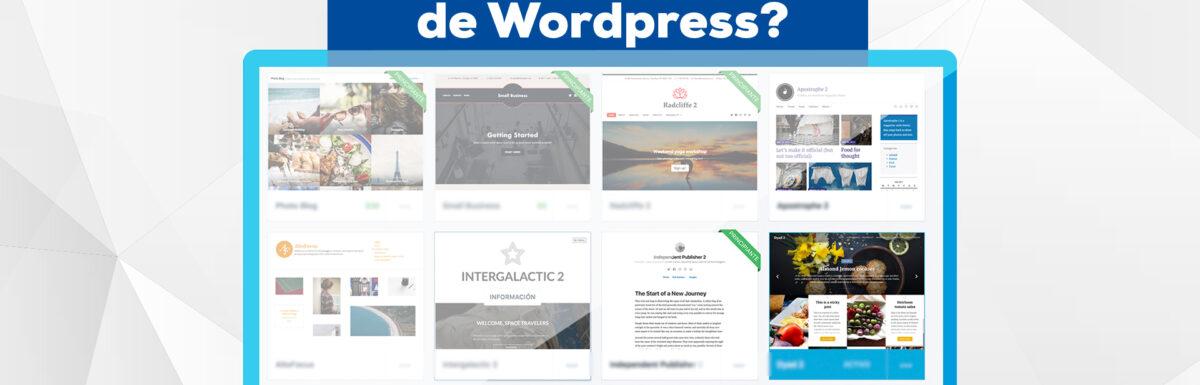 ¿Què es una plantilla de Wordpress?