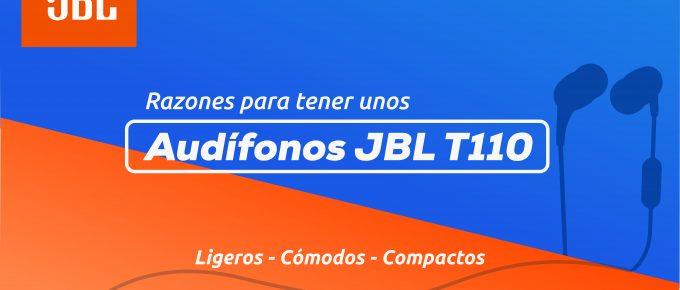 Audífonos JBL T110