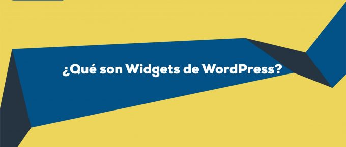 ¿Qué son Widgets en WordPress?