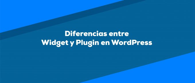 Diferencia entre widgets y plugins en WordPress
