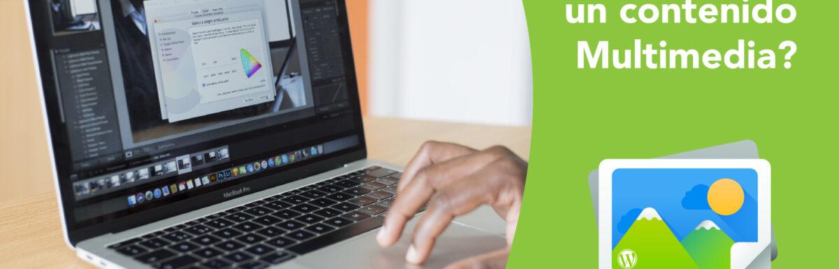 ¿Cómo Editar un contenido Multimedia en WordPress?